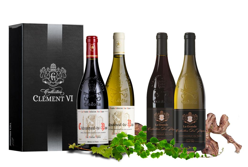 Accueil - Vignoble Wines&Brands - groupe Châteauneuf du pape